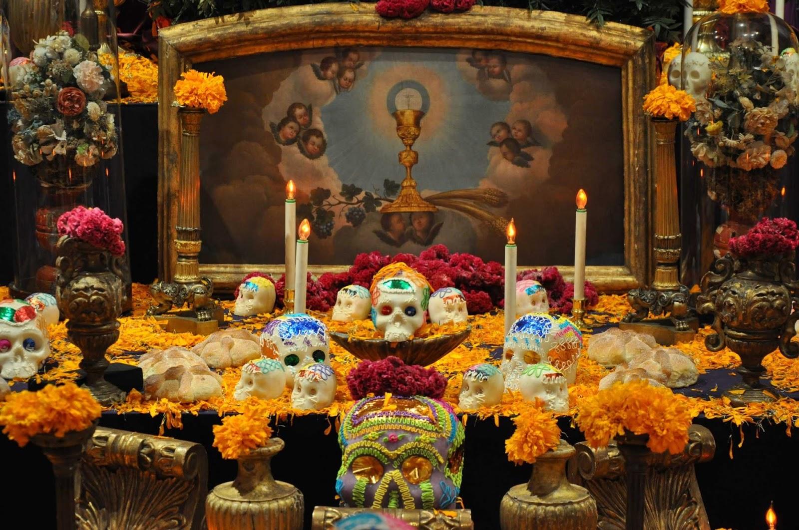 Por qué se pone la ofrenda de Día de Muertos?
