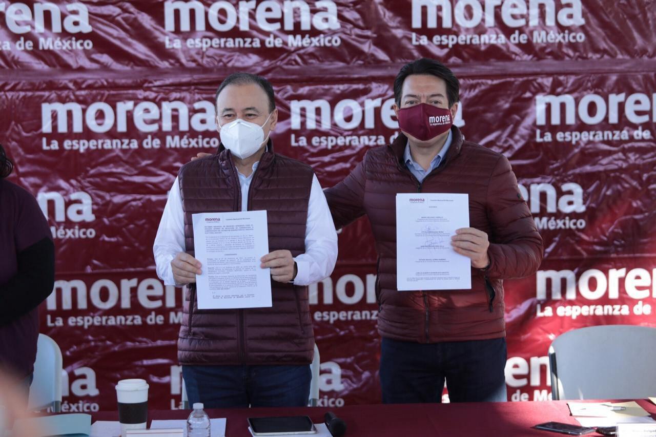Durazo será el candidato de Morena a la gubernatura de Sonora