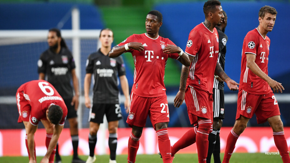 Galería: Lyon vs Bayern Munich