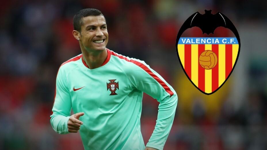 Cristiano Ronaldo Valencia