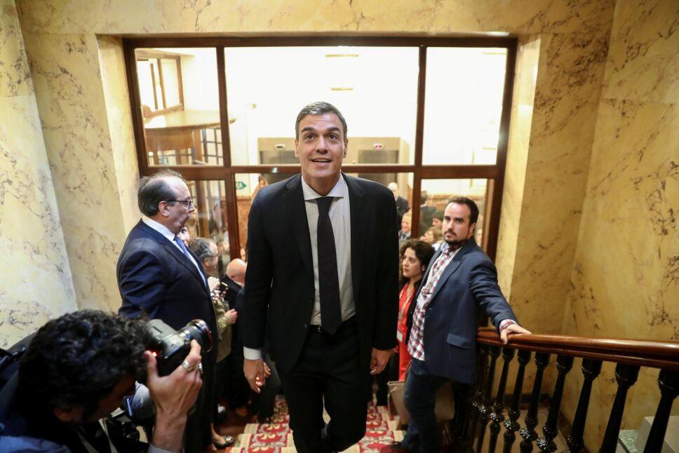 Pedro Sánchez, el nuevo jefe del gobierno español