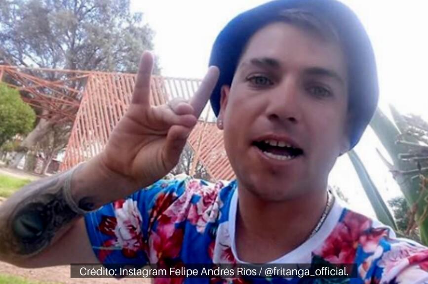 Felipe Andrés Urra es mejor conocido como Fritanga.