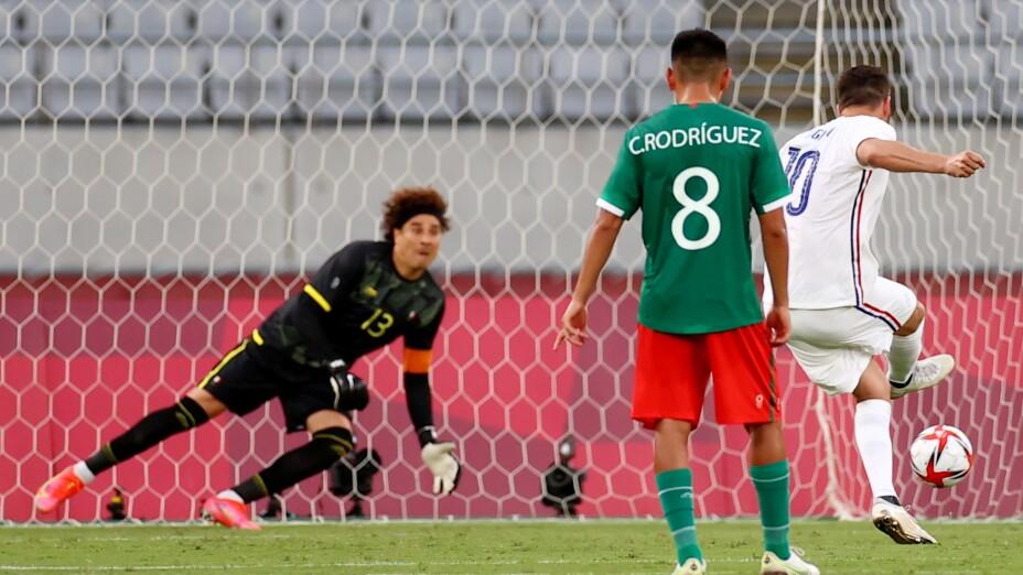 André-Pierre Gignac México vs Franci Tokyo 2020
