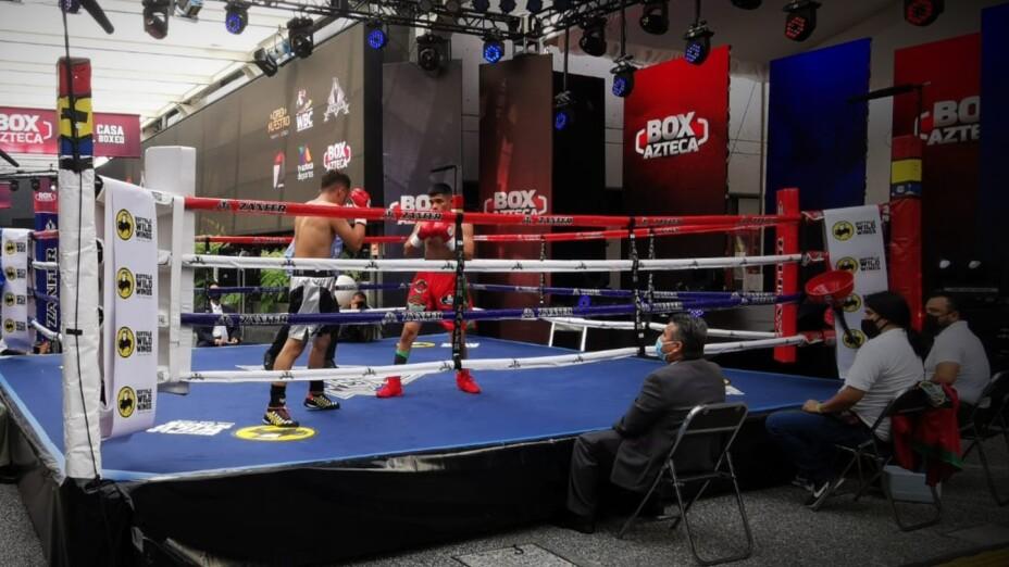 Rey David Picasso pelea en Box Azteca