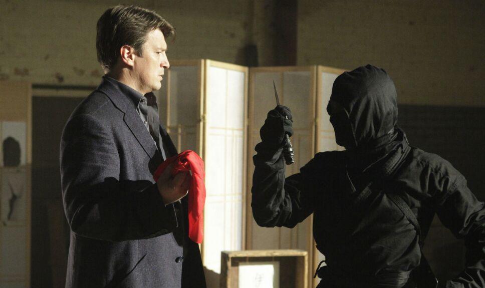 Castle, Capítulo 18, Temporada 6, Al estilo ninja
