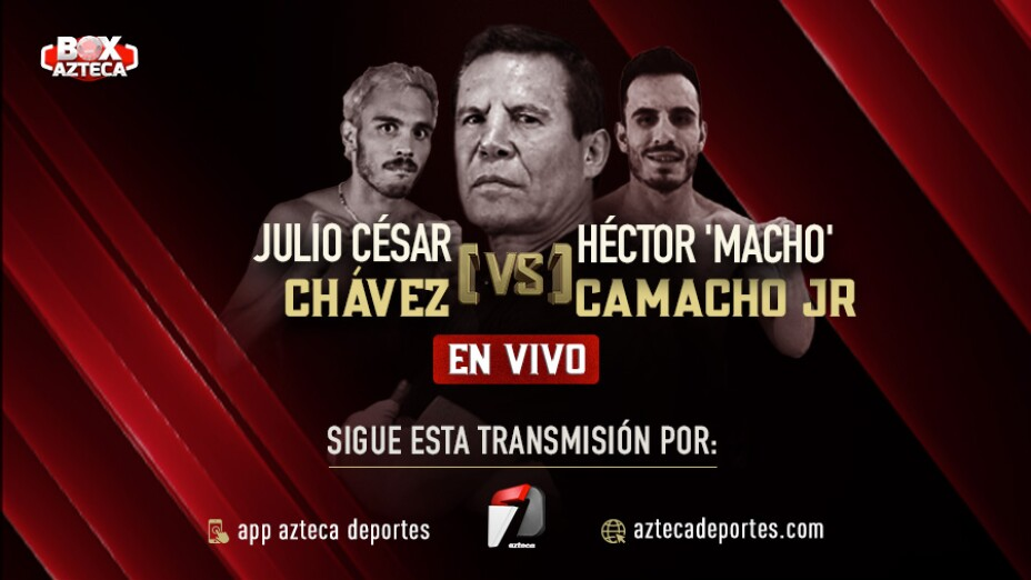 Julio César Chávez pelea contra Héctor Macho Camacho Jr