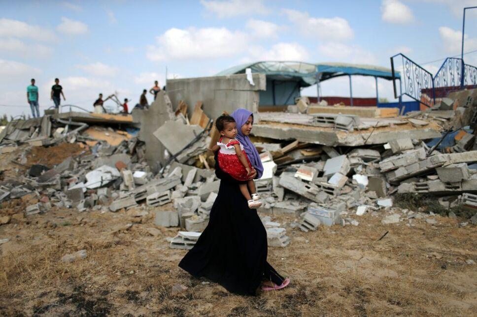 ataque israel palestina