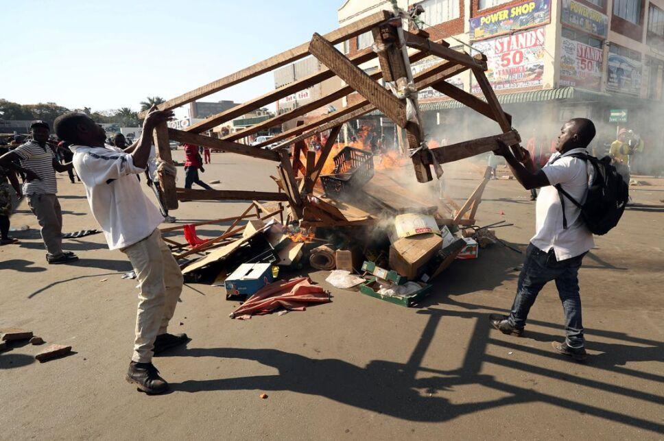 Protestas elecciones Zimbabue4