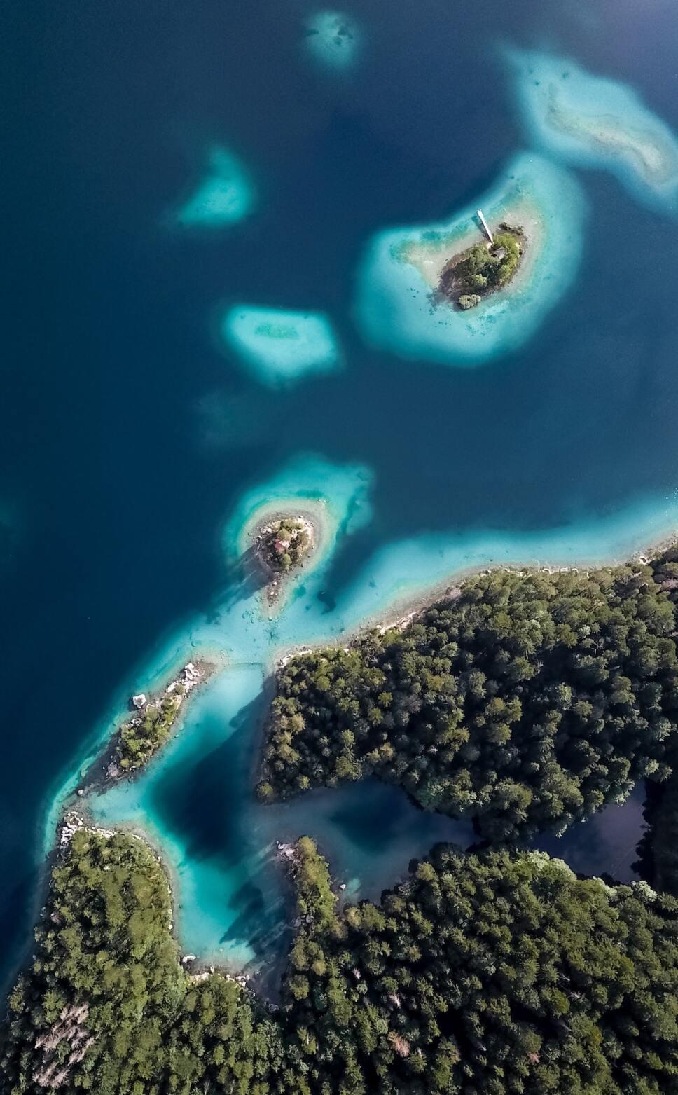 toma aerea bahamas