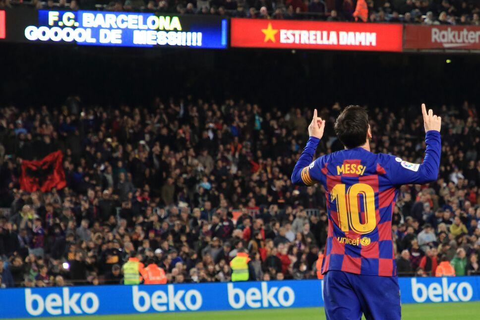 Messi le dedica sus goles a su abuela