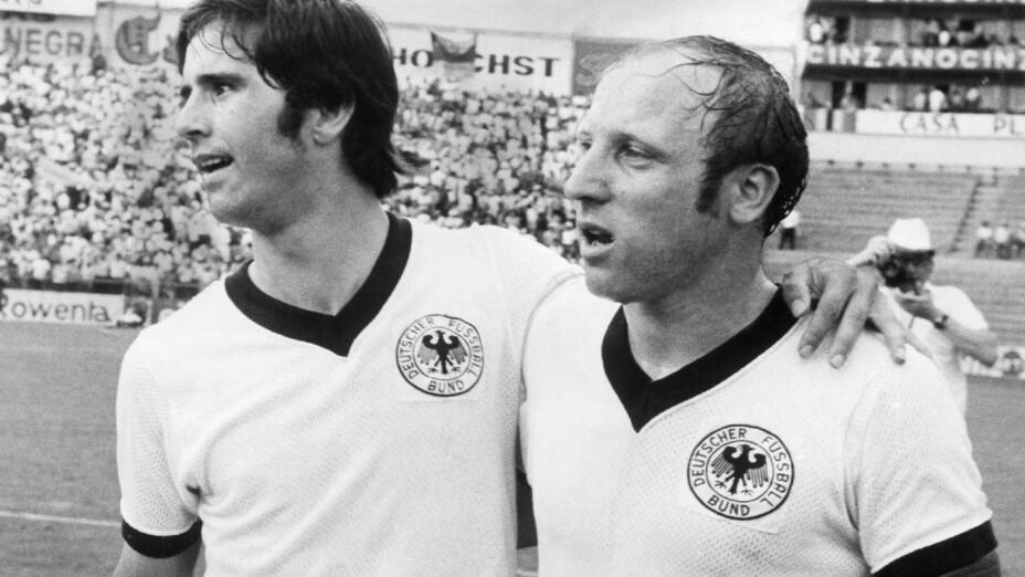 Gerd Müller en la Copa del Mundo 1970