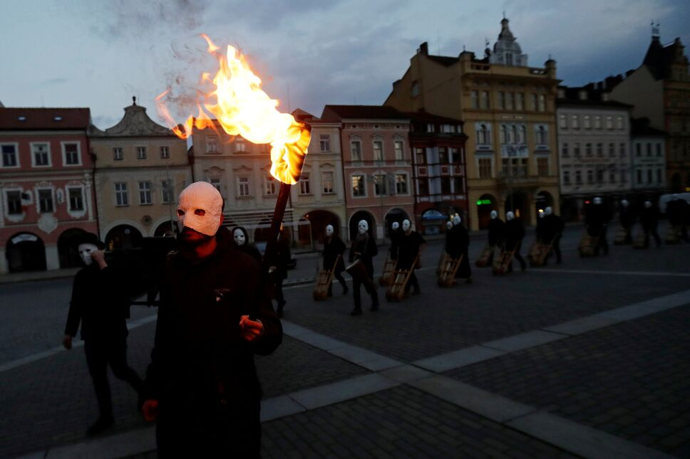 Easter celebrations in Ceske Budejovice