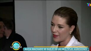 Alicia Machado se queja de los que la ofenden