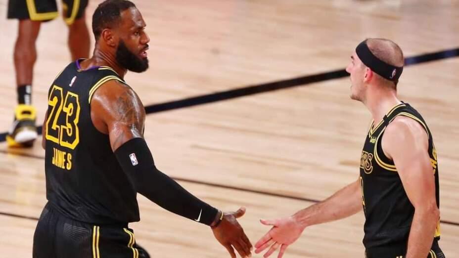 LeBron vs Rockets