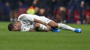 Eden Hazard lesión