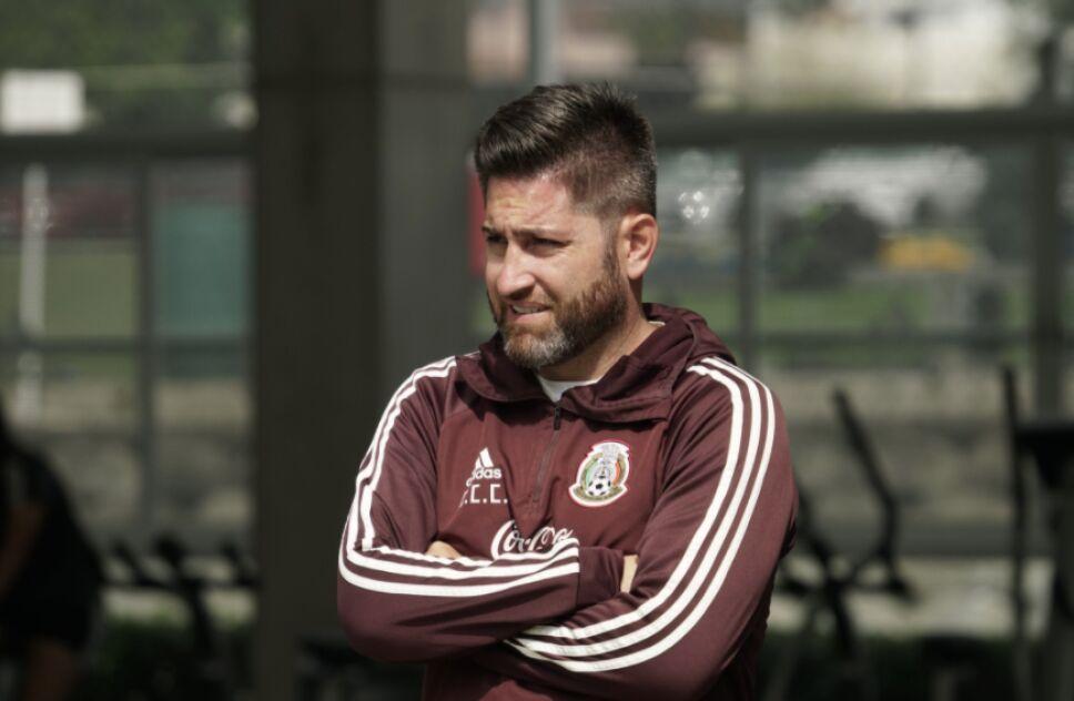 Christopher Cuellar Selección Mexicana