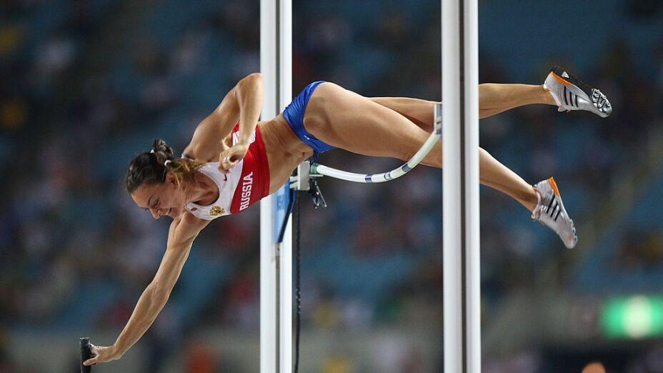 Yelena Isinbayeva, Rusia