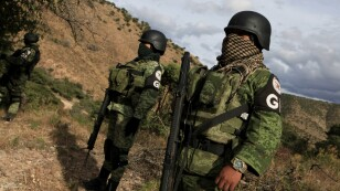 Resguardan zona donde fue la masacre de Chihuahua