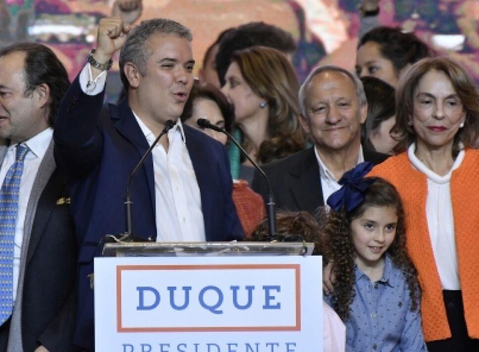 Iván Duque discuros campaña