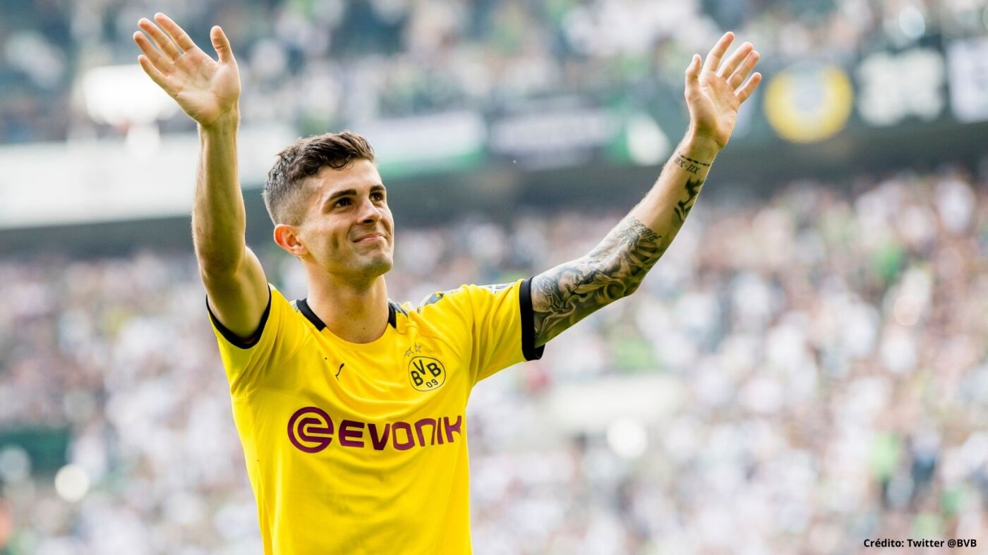 8 EX JUGADORES del Borussia Dortmund christian pulisic.jpg