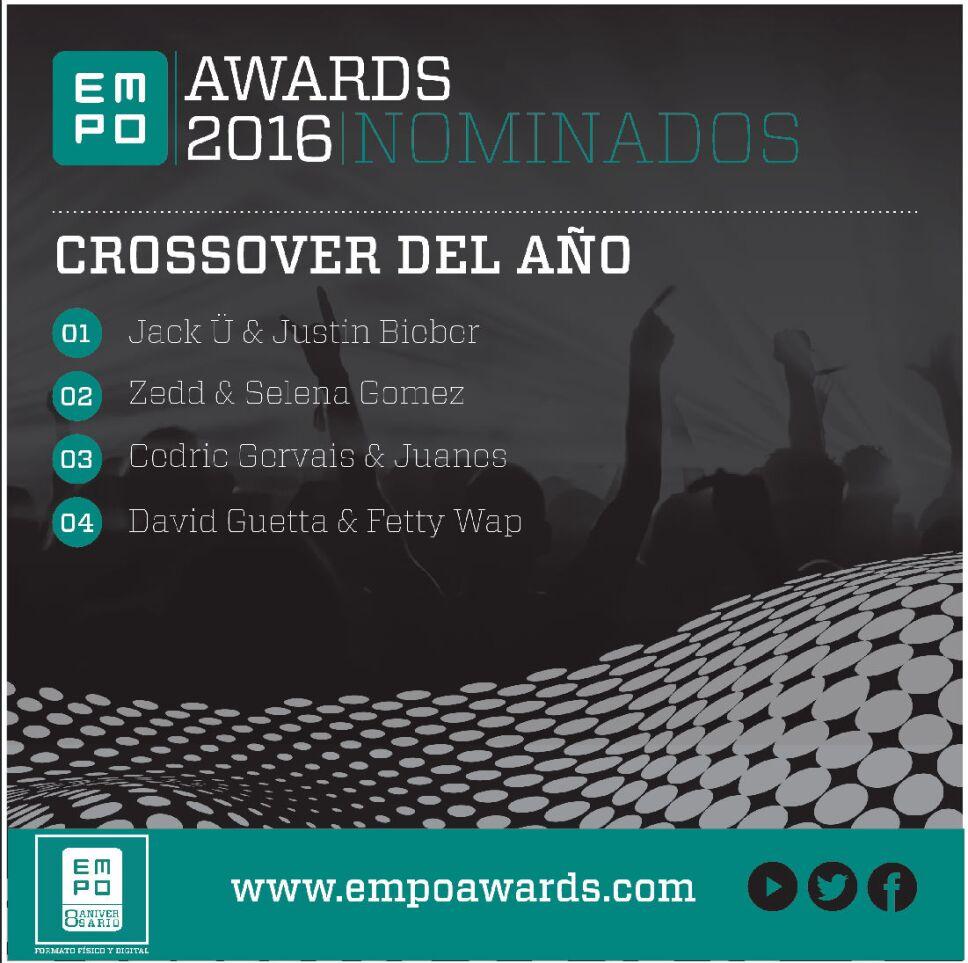 Crossover del año Empo Awards 2016