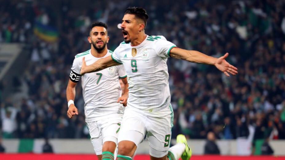 Selección de Argelia contra México