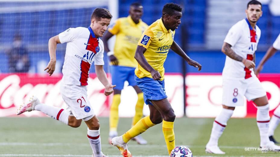 Ousseynou Thioune, jugador del Sochaux