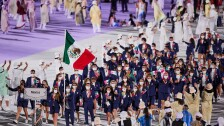 Desfile de la Delegación Mexicana en Tokyo 2020