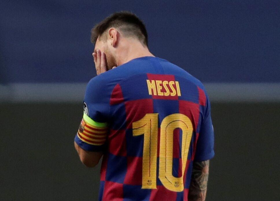 Lionel Messi peor derrota