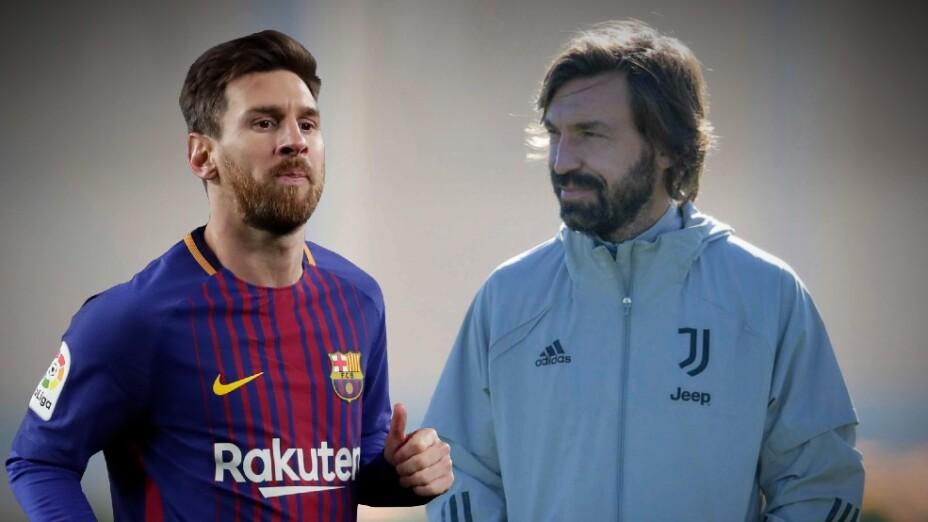 Lionel Messi Andrea Pirlo