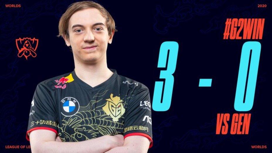 G2 esports pasa a semifinales