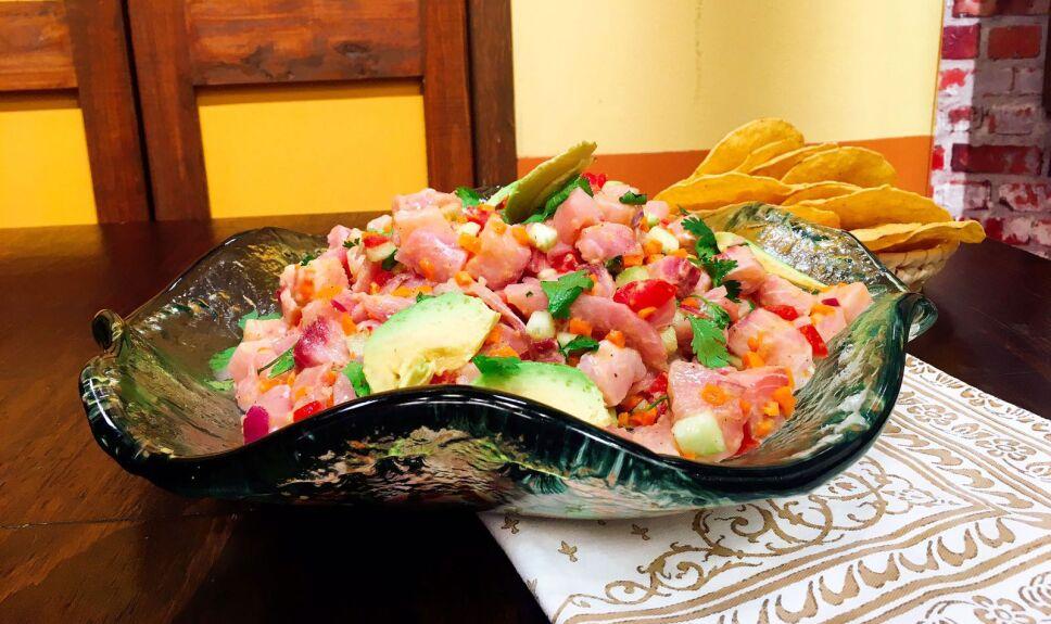 Receta Ceviche de pescado Cocineros Mexicanos