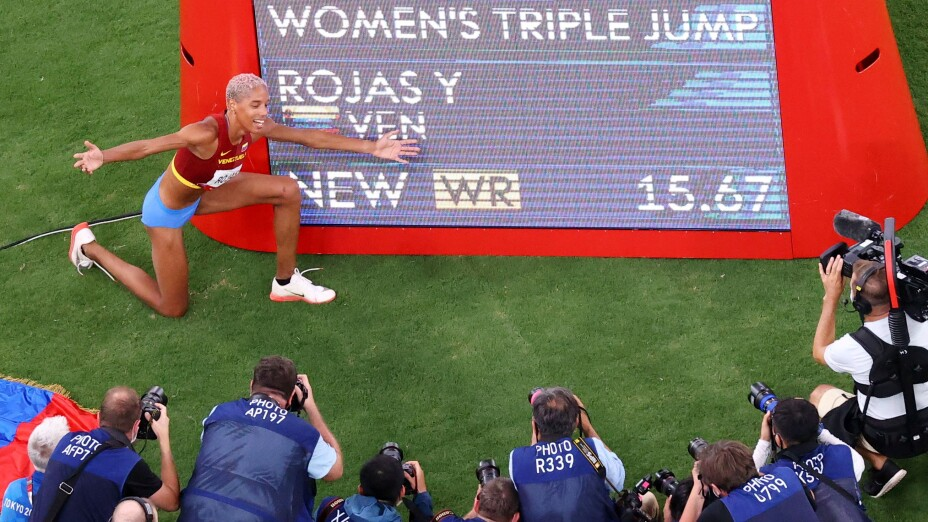 Athletics - Women's Triple Jump - Final