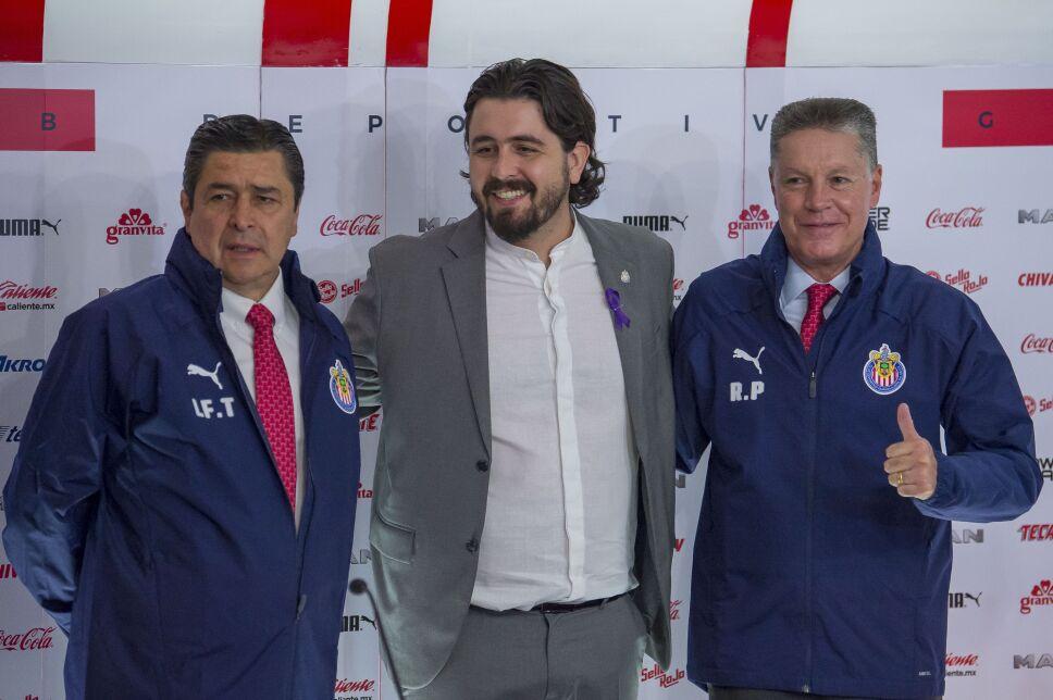 Luis Fernando Tena, Amaury Vergara y Ricardo Peláez