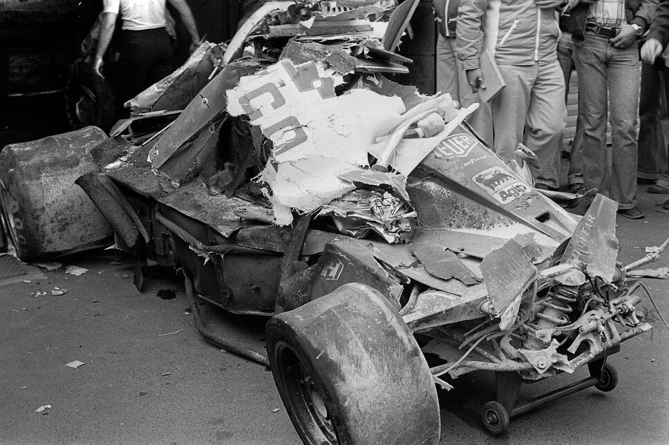 Niki Lauda, accidente Fórmula Uno