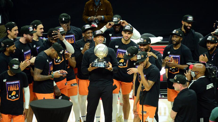 Los Phoenix Suns vuelven a las Finales de la NBA 28 años después