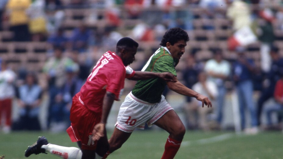 Octavio Mora, en partido vs Canadá