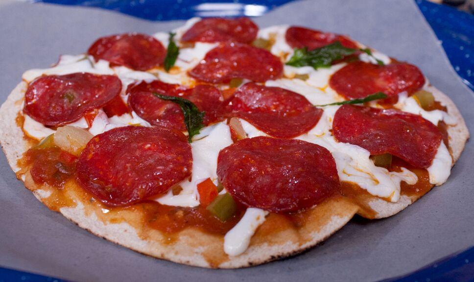 Pizza exprés de peperoni