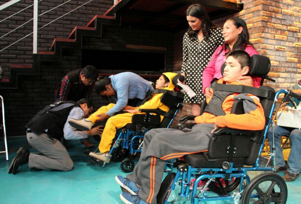 prueba silla de ruedas