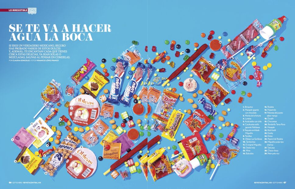 dulces para tu piñata
