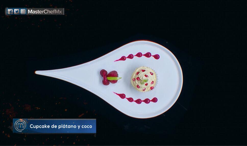 Platillos MasterChef, cupcake