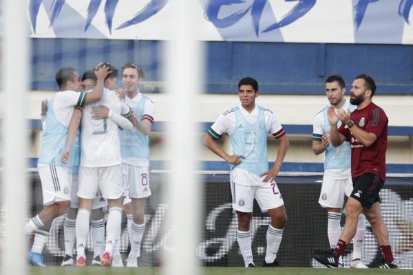Gol de Kevin Álvarez, México vs Australia