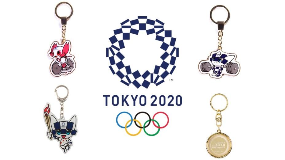 Llaveros de Toyko 2020