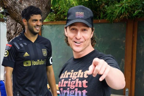 Matthew McConaughey se inspira en Carlos Vela