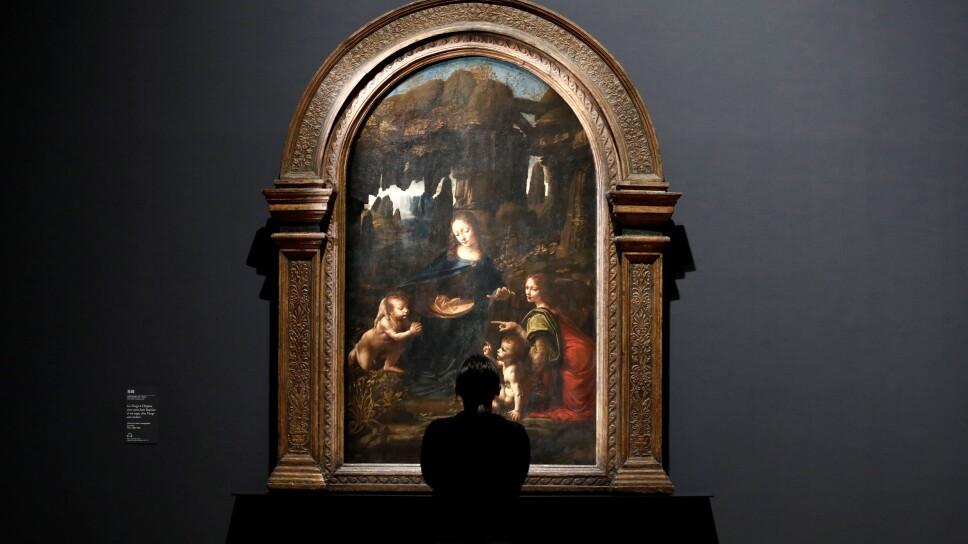 "''Leonardo da Vinci"" exhibition to commemorate the 500-year anniversary of his death at the Louvre Museum in Paris"