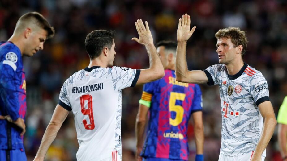 Barcelona vs Bayern Munich resultado marcador