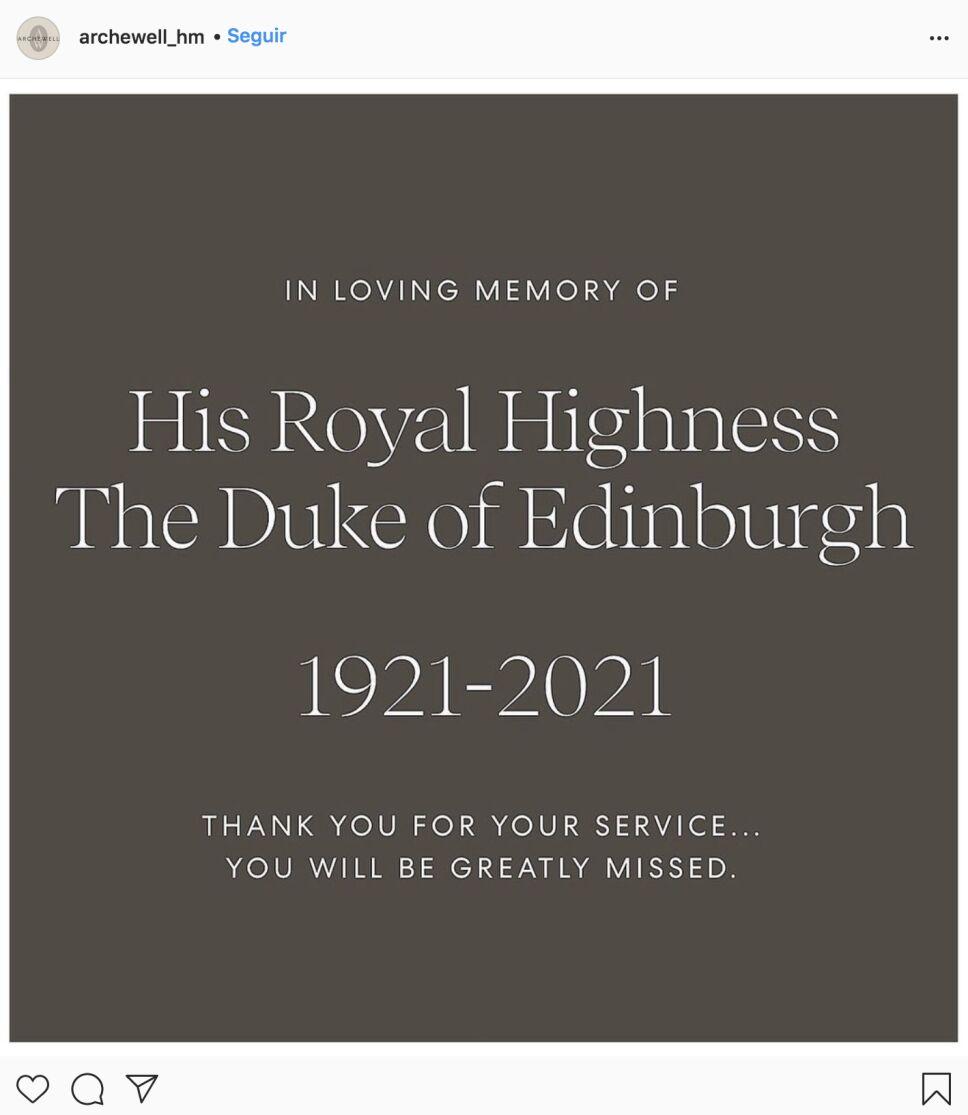 El mensaje del príncipe Harry ante la muerte de Felipe de Edimburgo