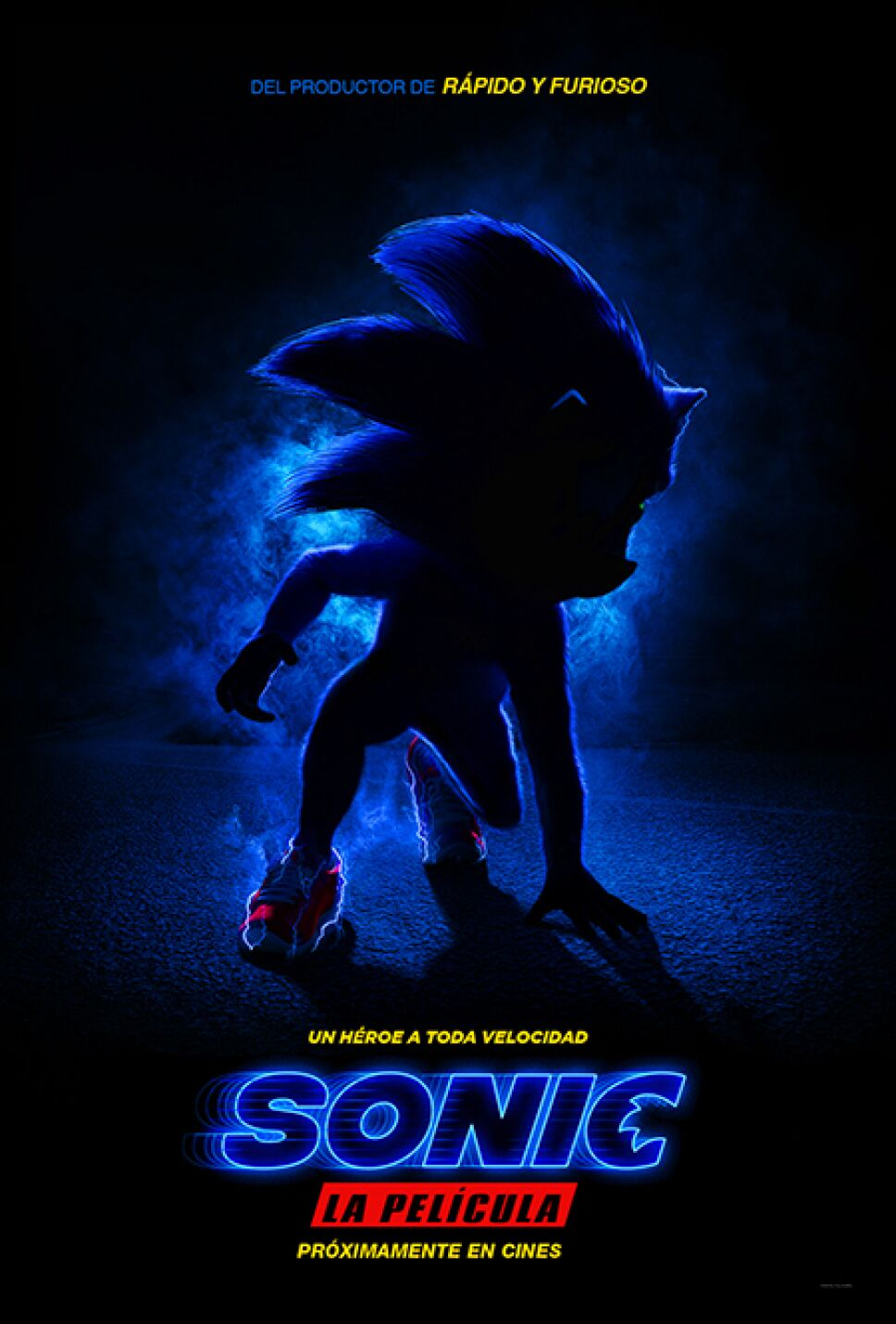 Sonic Live action kidsiete
