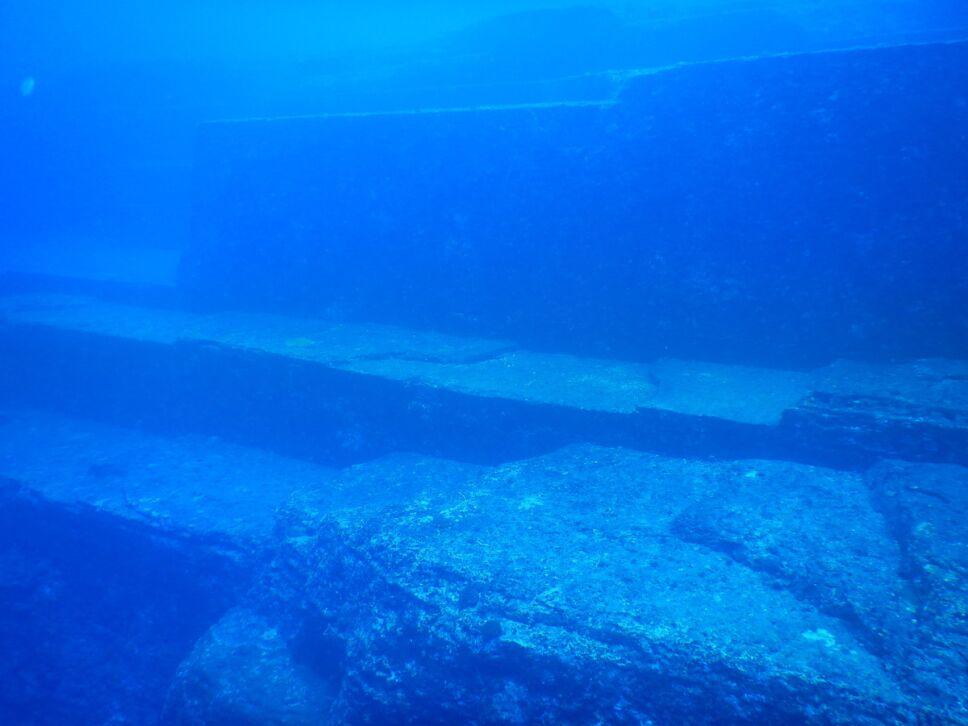 monumento yonaguni bajo el mar