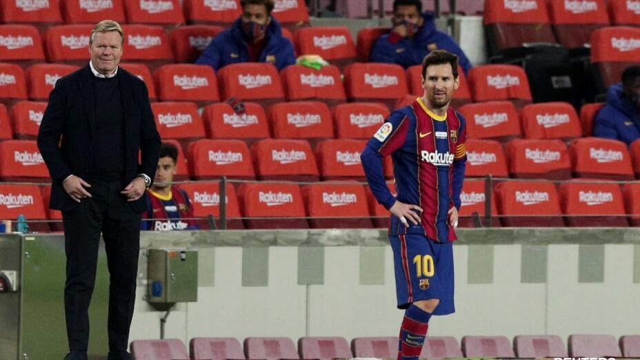Koeman y Messi